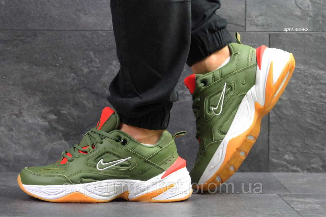 Кроссовки Nike М2K Tekno зеленые. Код 6243