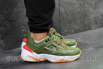 Кроссовки Nike М2K Tekno зеленые. Код 6243, фото 2