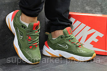 Кроссовки Nike М2K Tekno зеленые. Код 6243, фото 3