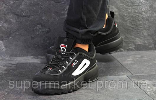 Кроссовки Fila черные, код6254, фото 2