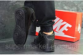 Кроссовки  Nike Air Force черные. Код 6375, фото 3
