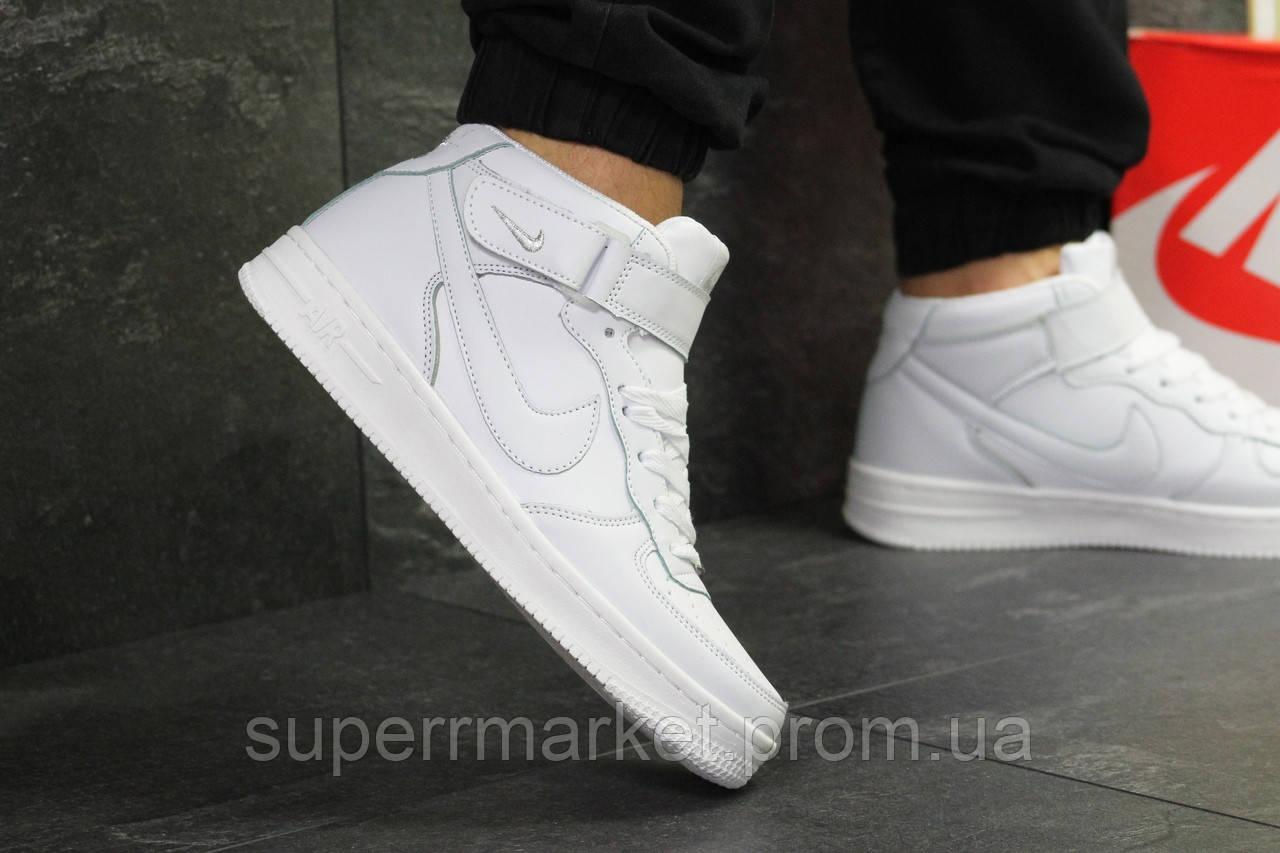 Кроссовки Nike Air Force белые, код6376