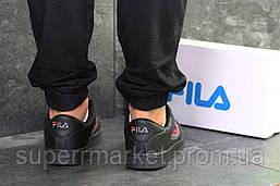 Кроссовки Fila черные, код6378, фото 3