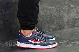 Кроссовки Fila синие, код6379, фото 2