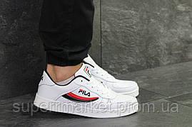 Кроссовки Fila белые, код6381, фото 3