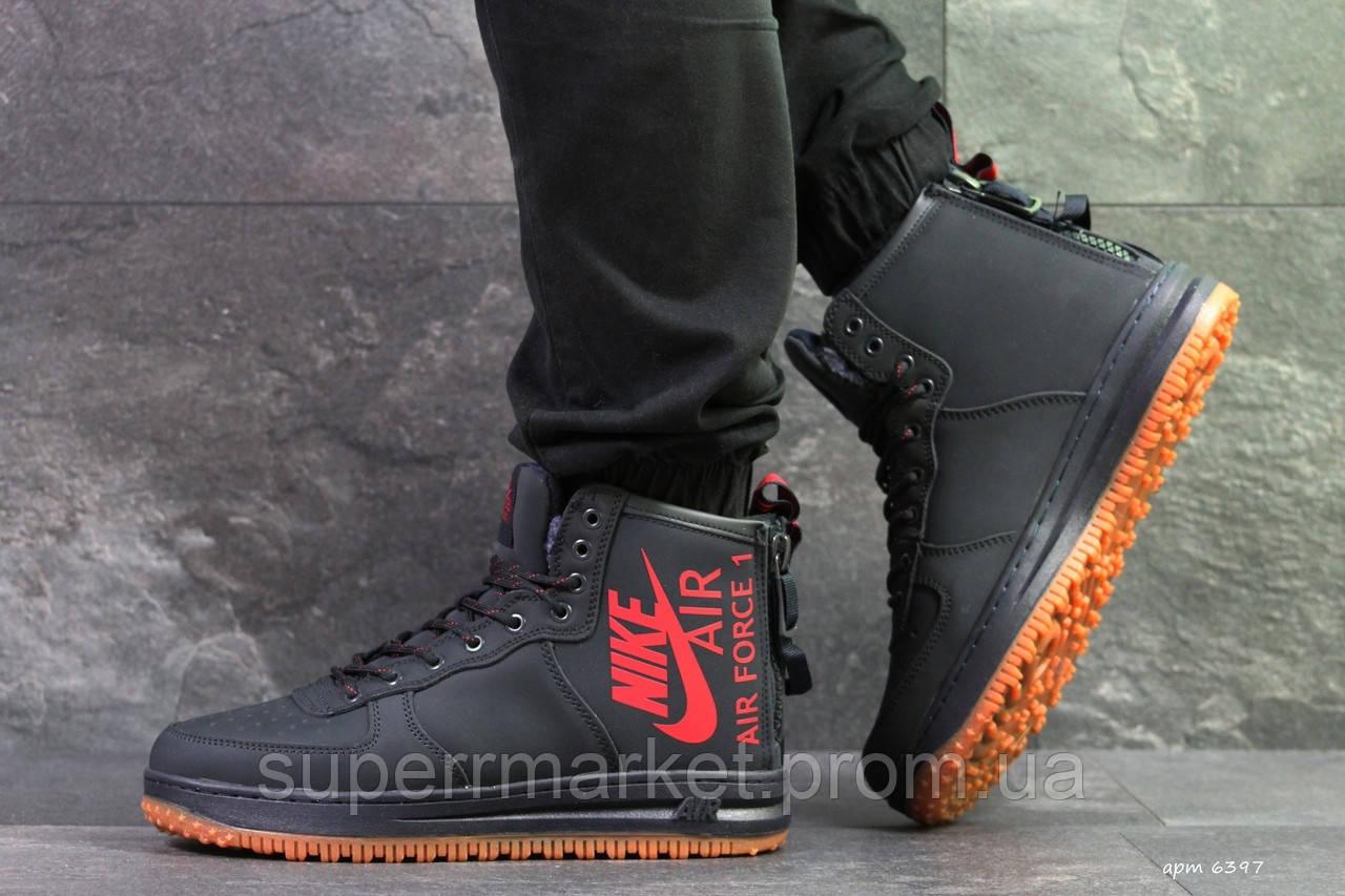 Кроссовки Nike Air Force темно-синие, код6397