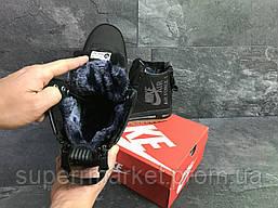Кроссовки Nike Air Force черные, код6398, фото 3