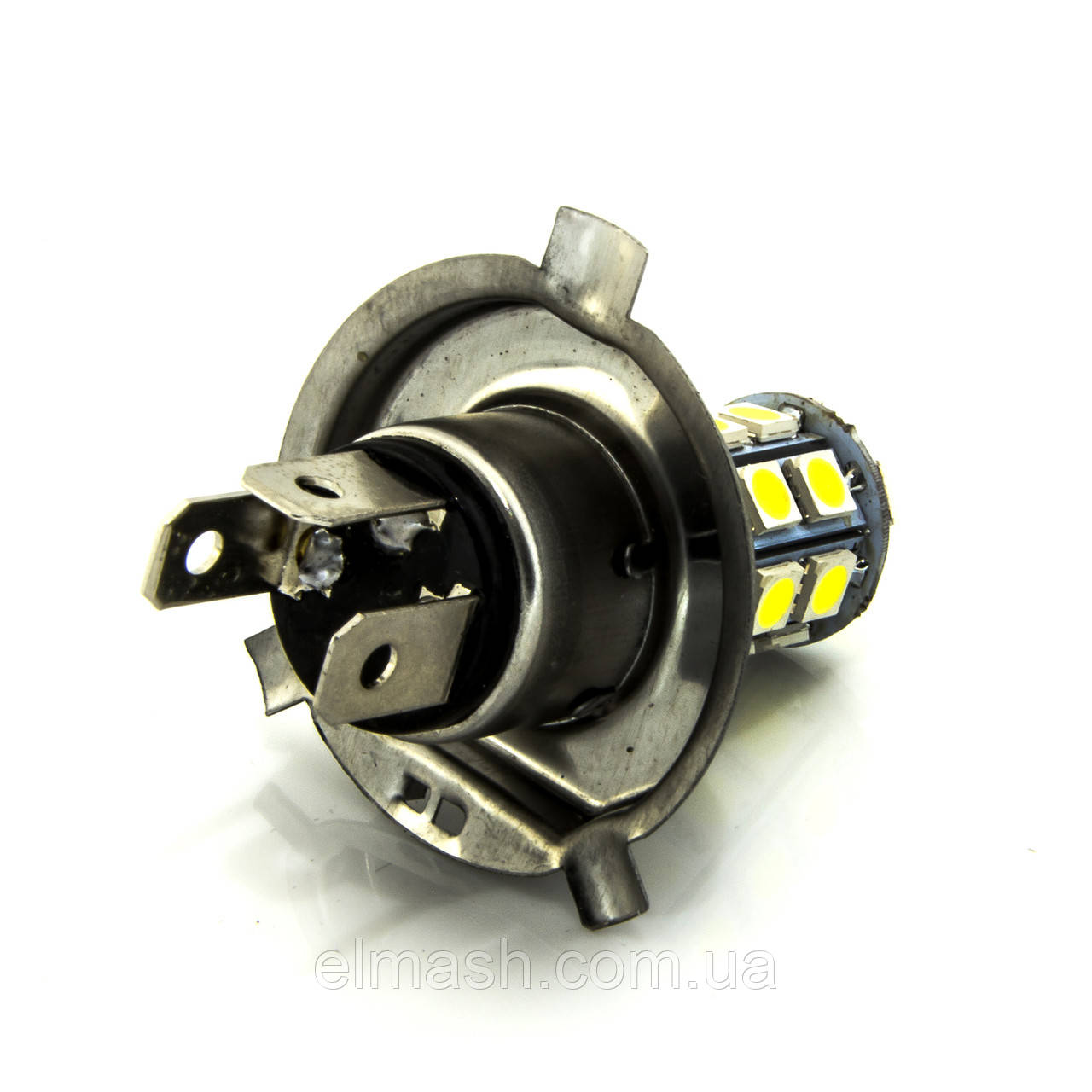 Лампа LED 24V H4 27SMD 5050 белый 60/280Lm