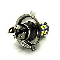 Лампа LED 24V H4 27SMD 5050 белый 60/280Lm, фото 1