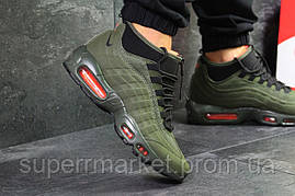 Кроссовки Nike Air Max 95 Sneakerboot зеленые. Код 6285, фото 2