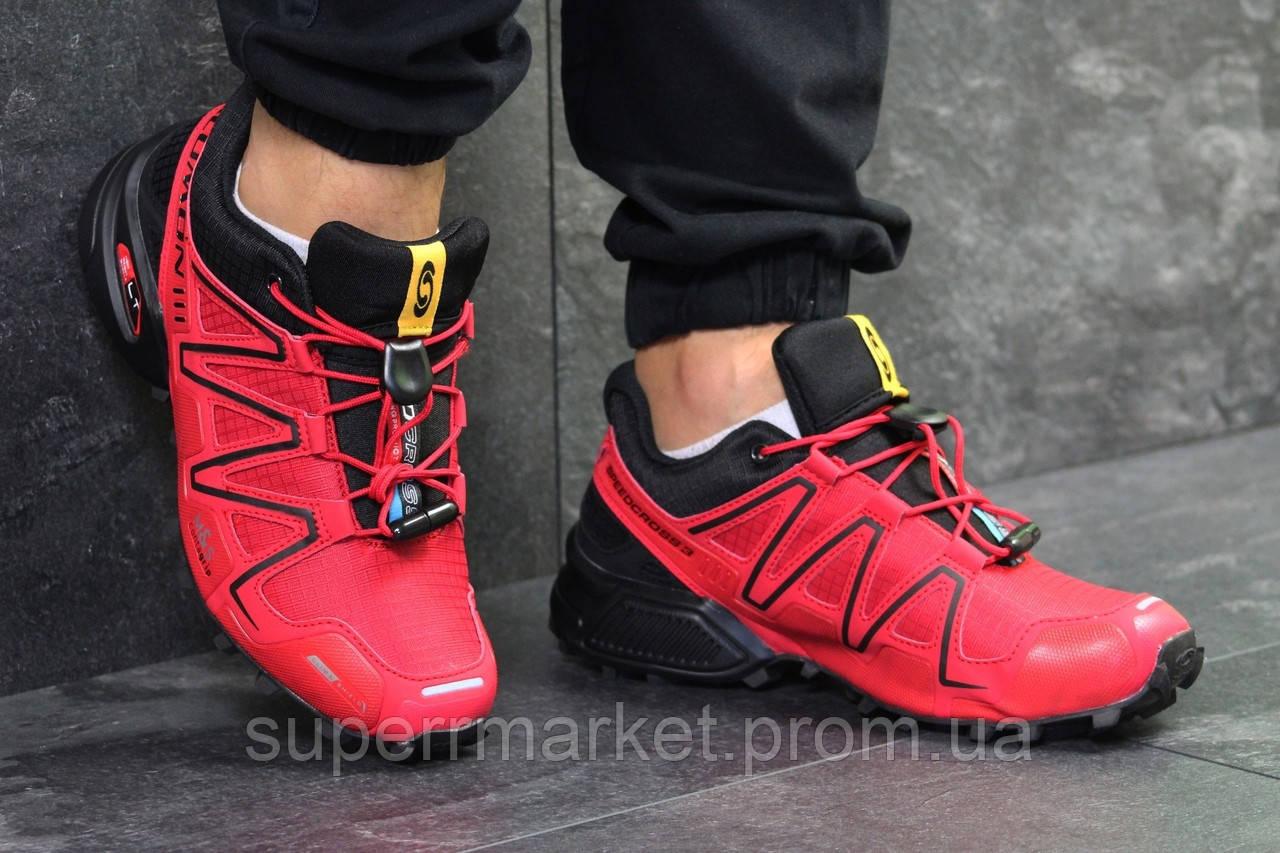 Кроссовки Salomon Speedcross 3 красные, код6302