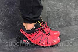 Кроссовки Salomon Speedcross 3 красные, код6302, фото 2