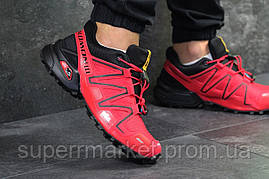 Кроссовки Salomon Speedcross 3 красные, код6302, фото 3