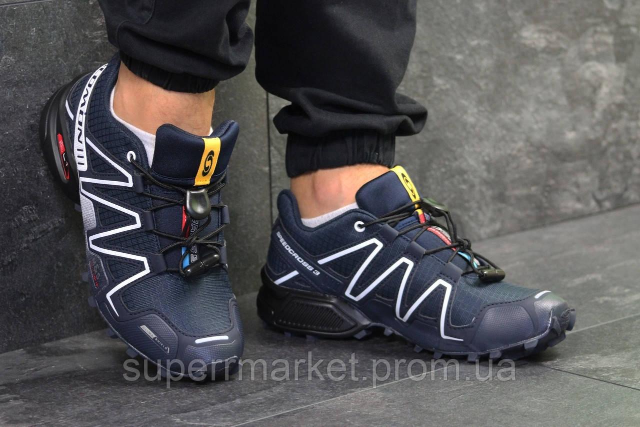 Кроссовки Salomon Speedcross 3 темно-синие, код6304