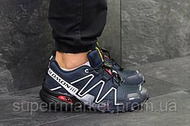Кроссовки Salomon Speedcross 3 темно-синие, код6304, фото 2