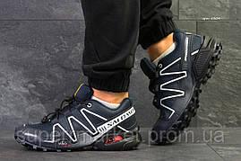 Кроссовки Salomon Speedcross 3 темно-синие, код6304, фото 3