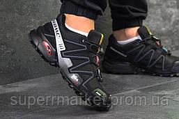Кроссовки Salomon Speedcross 3 черные, код6305, фото 2