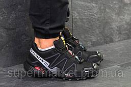 Кроссовки Salomon Speedcross 3 черные, код6305, фото 3