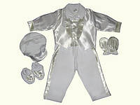 Набор в коробке (белый/молочный) Мальчик р.62-80