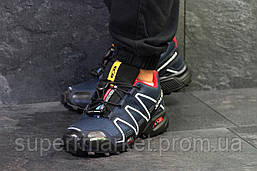 Кроссовки Salomon Speedcross 3 темно-синие, код6307, фото 2