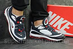 Кроссовки Nike Air Max 97 синие с белым. Код 6311, фото 2