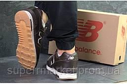 Кроссовки New Balance коричневые, код6315, фото 3