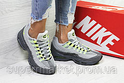 Кроссовки в стиле Nike Air Max 95 серые, код6320, фото 2