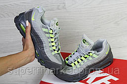 Кроссовки в стиле Nike Air Max 95 серые, код6320, фото 3
