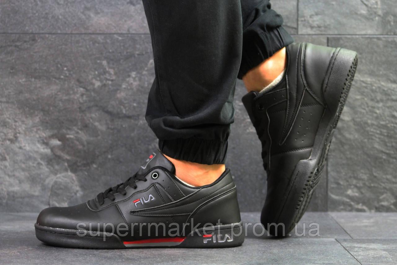 Кроссовки Fila черные, код6329