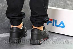 Кроссовки Fila черные, код6329, фото 2