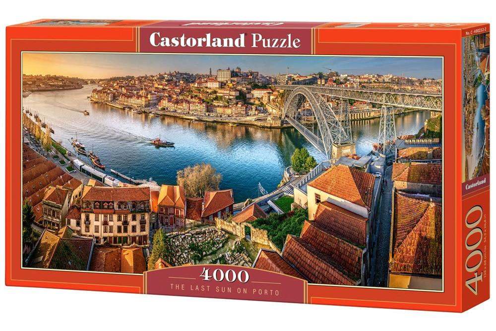 Пазлы Castorland Город на берегу моря (на горном склоне) Hallstatt, Austria С-400232, 4000 элементов