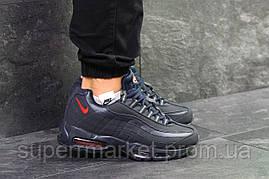 Кроссовки Nike Air Max 95 темно-синие, код6345, фото 3