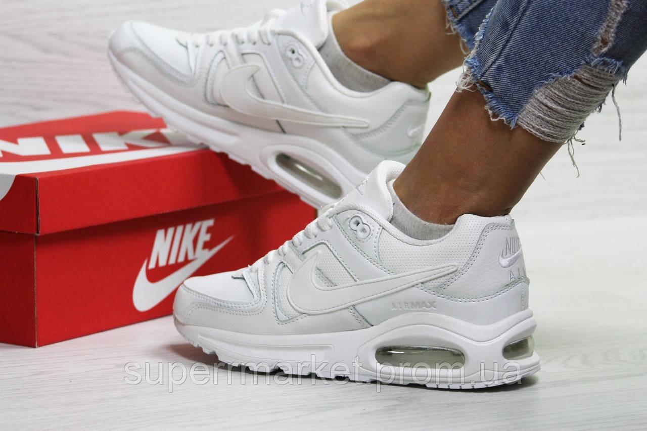 Кроссовки Nike Air Force белые. Код 6411