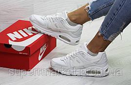 Кроссовки Nike Air Force белые. Код 6411, фото 3