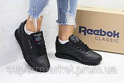 Кроссовки в стиле Reebok черные, код6421, фото 2