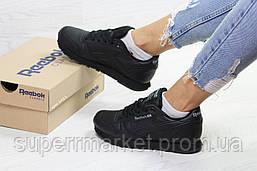 Кроссовки в стиле Reebok черные, код6421, фото 3