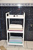 Стеллаж для хранения полотенец и банных принадлежностей