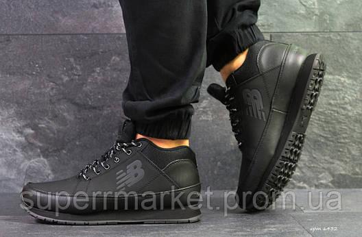 Кроссовки New Balance черные  зима , код6432, фото 2