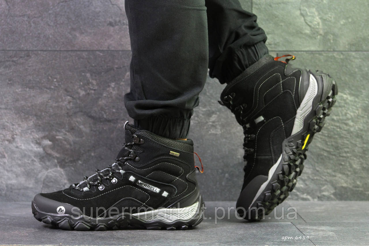 Кроссовки Merrell черные, код6459