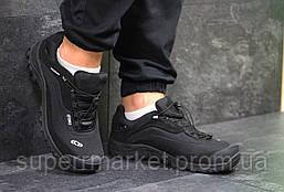 Кроссовки Salomon, черные с белым, термо, код6468, фото 3