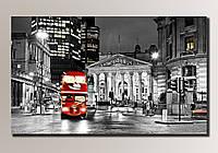 """Лондон 1"" Картина на холсте для интерьера"