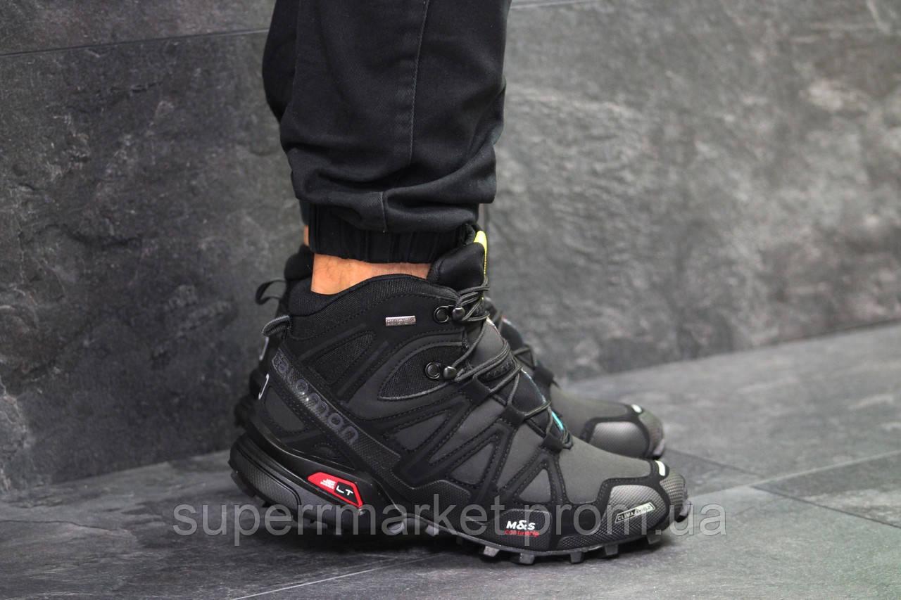Ботинки Салоион Speedcross 3 черные. Код 6489