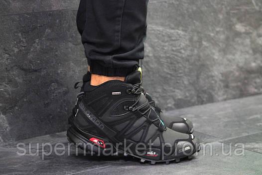 Ботинки Салоион Speedcross 3 черные. Код 6489, фото 2