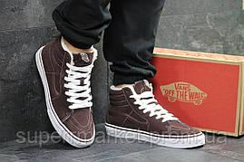 Ботинки Vans коричневые  зима , код6497, фото 2