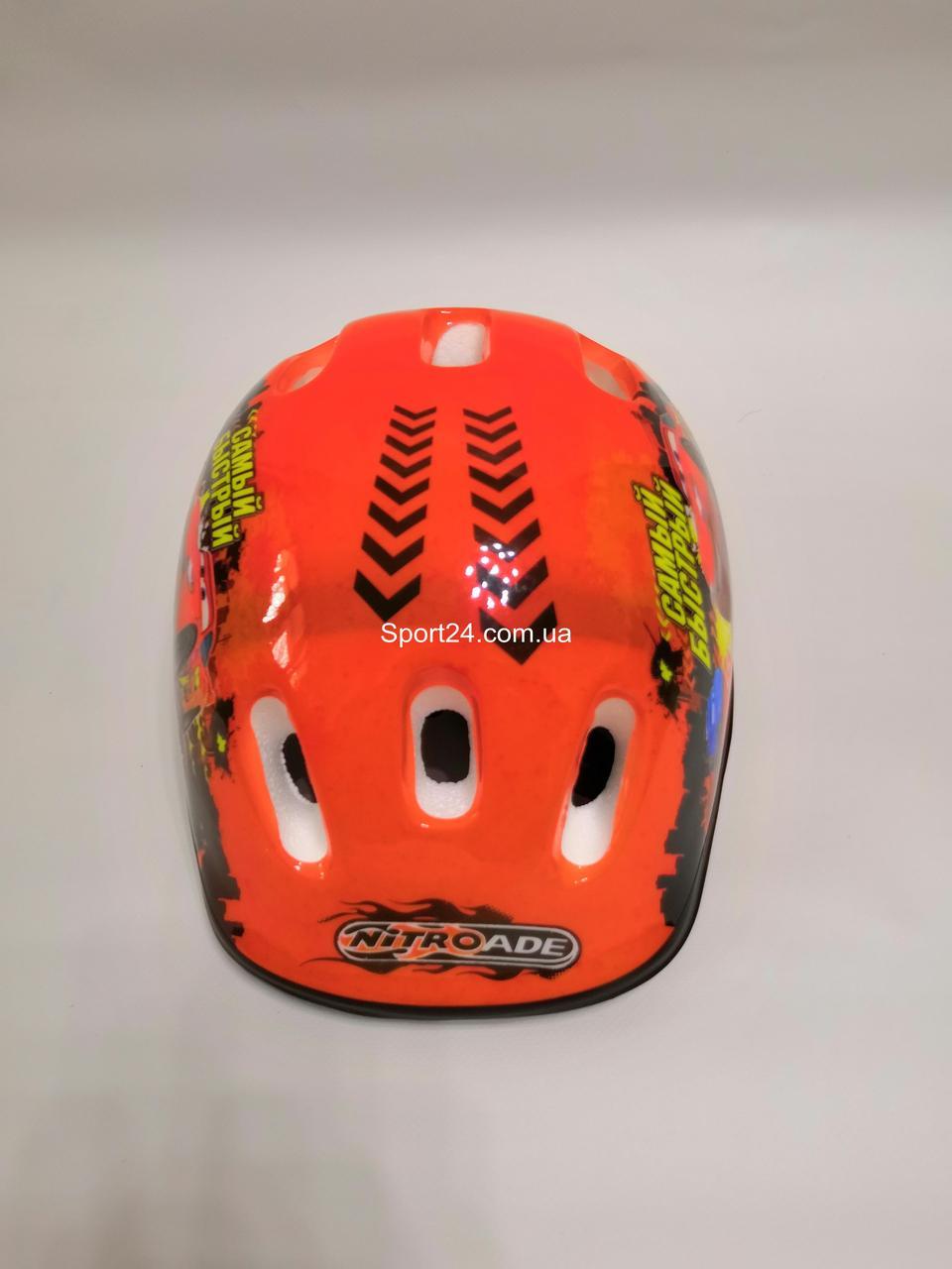 Защитный шлем для детей ТАЧКИ Cars