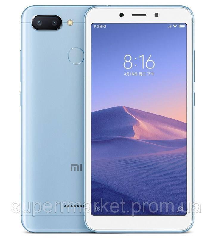 Смартфон Xiaomi Redmi 6 3 32Gb Blue EU