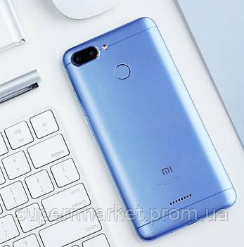 Смартфон Xiaomi Redmi 6 3 32Gb Blue EU, фото 2