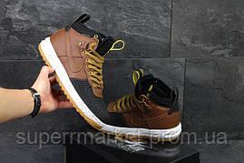 Кроссовки Puma коричневые, код4527, фото 3