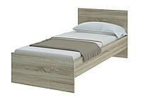 Кровать односпальная 90*200 ЛДСП для гостиниц, хостелов, баз отдыха