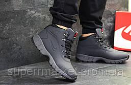 Кроссовки Nike Lunarridge серые зима , код6528, фото 3